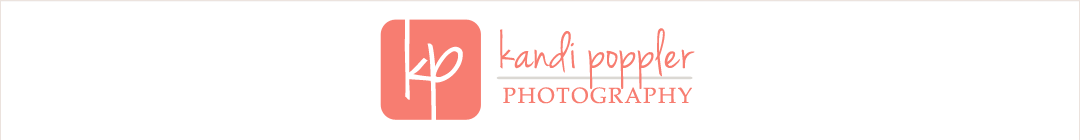 Kandi Poppler Photography / Mankato MN Photographer logo